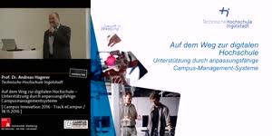 Thumbnail - Auf dem Weg zur digitalen Hochschule – Unterstützung durch anpassungsfähige Campusmanagementsysteme