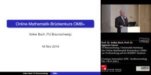 Miniaturansicht - Der Online-Mathematik-Brückenkurs OMB+ zur  Vorbereitung auf ein WiMINT-Studium