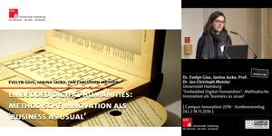 "Miniaturansicht - ""Embedded Digital Humanities"": Methodische  Innovation als 'business as usual'"