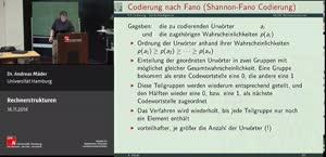 Miniaturansicht - 9 - Codierung - Symbolhäufigkeiten