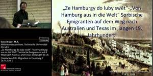 """Miniaturansicht - """"Ze Hamburg do luby swêt - """"Von Hamburg aus in die Welt"""" Sorbische Emigranten auf dem Weg nach Australien und Texas im ,langen 19. Jahrhundert'"""