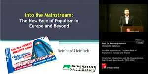 Miniaturansicht - Into the Mainstream: The New Face of Populism in Europe and Beyond