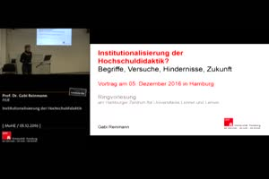 Thumbnail - Institutionalisierung der Hochschuldidaktik