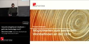 Thumbnail - Welche Möglichkeiten der Unterstützung zur Förderung des seelischen Wohlbefindens bietet die Universität Hamburg?