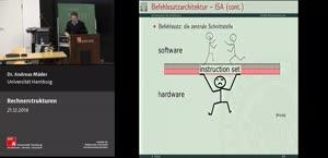 Miniaturansicht - 19 - Instruction Set Architecture Teil 2 - Befehlsformate