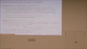 Miniaturansicht - Diskrete Mathematik - Informatik 1. Semester 22.12.2016