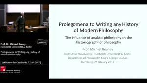 Miniaturansicht - Prolegomena to Writing any History of Modern Philosophy