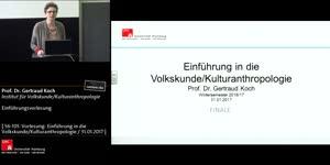 Thumbnail - Kulturwissenschaft als Form der Wirklichkeitserforschung