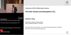 Vorschaubild - The Polar Oceans and Atmospheric CO2