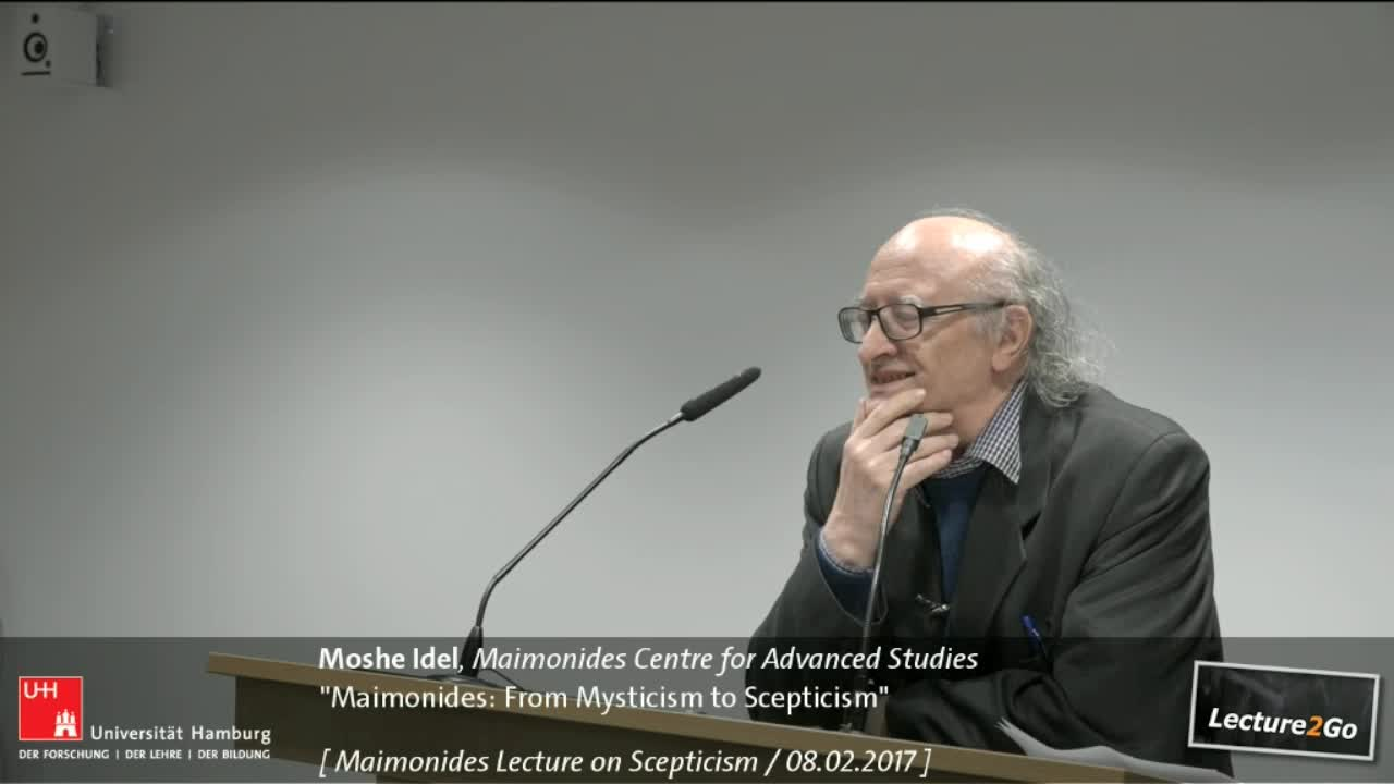 Maimonides: From Mysticism to Scepticism - Maimonides