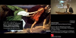 Miniaturansicht - The Sex Life of a Metaphysical Sceptic: Platonic Themes in Gersonides' Commentary on Song of Songs