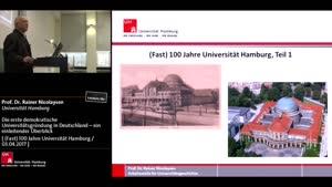 Miniaturansicht - Die erste demokratische Universitätsgründung in Deutschland – ein einleitender Überblick