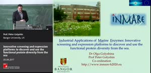 Miniaturansicht - Innovative screening and expression platforms to discover and use the functional protein diversity from the sea