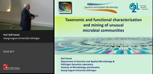 Miniaturansicht - Taxonomic and functional characterization and mining of unusual microbial communities