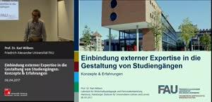 Miniaturansicht - Einbindung externer Expertise in die Gestaltung von Studiengängen