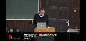 Miniaturansicht - Valentin Aichele: Menschenrechte und Menschenwürde