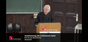 Miniaturansicht - Klaus Dörner: Anerkennung der Euthanasie-Opfer