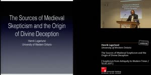 Miniaturansicht - The Sources of Medieval Scepticism and the Origin of Divine Deception