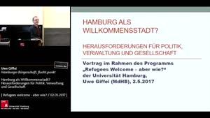 Thumbnail - Hamburg als Willkommensstadt? Herausforderungen für Politik, Verwaltung und Gesellschaft