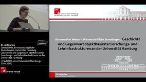 Miniaturansicht - Geschichte und Gegenwart objektbasierter Forschungs- und Lehrinfrastrukturen an der Universität Hamburg