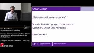 Thumbnail - Von der Unterbringung zum Wohnen. Welche Anforderungen lassen sich daraus für die Stadt ableiten?