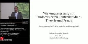 Miniaturansicht - Wirkungsmessung mit Randomisieerten Kontrollstudien - Theorie und Praxis