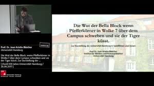Miniaturansicht - Die Wut der Bella Block, wenn Pfefferkörner in Wolke 7 über dem Campus schweben und sie der Tiger küsst. Zur Darstellung der Universität Hamburg in Spielfilmen und Serien