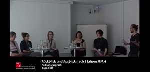 Miniaturansicht - Podcast: Zurück an Alster und Elbe – Rückblick und Ausblick nach 5 Jahren JFMH (Podiumsgespräch)