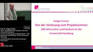 Thumbnail - Von der Vorlesung zum Projektseminar – 100 Jahre Lehre und Studium an der Universität Hamburg