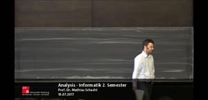 Vorschaubild - Analysis 10.07.2017 Mathias Schacht