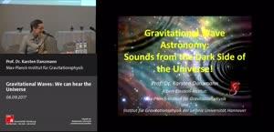 Miniaturansicht - Gravitational Waves: We can hear the Universe!