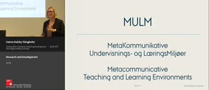 Miniaturansicht - Research and Development - Metacommunicative Teaching and Learning Environments (MULM)