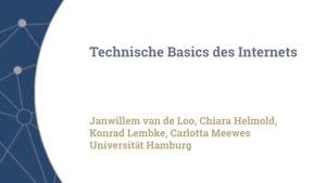 Vorschaubild - Technische Basics des Internets