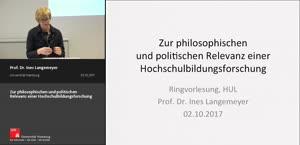 Miniaturansicht - Zur philosophischen und politischen Relevanz einer Hochschulbildungsforschung