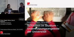 Thumbnail - Schreiben im Studium - Unterstützungsangebote der Universität