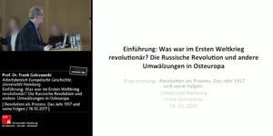 Vorschaubild - Einführung: Was war im Ersten Weltkrieg revolutionär? Die Russische Revolution und andere Umwälzungen in Osteuropa