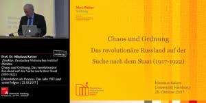 Miniaturansicht - Chaos und Ordnung. Das revolutionäre Russland auf der Suche nach dem Staat (1917-1922)