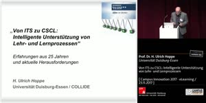 Vorschaubild - Von ITS zu CSCL: Intelligente Unterstützung von Lehr- und Lernprozessen