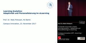 Miniaturansicht - Learning Analytics – Adaptivität und Personalisierung im eLearning
