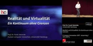 Miniaturansicht - Realität und Virtualität: Ein Kontinuum ohne Grenzen