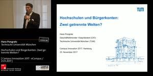 Miniaturansicht - Hochschulen und Bürgerkonten: Zwei getrennte Welten?