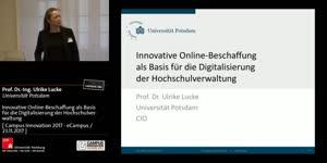 Miniaturansicht - Innovative Online-Beschaffung als Basis für die Digitalisierung der Hochschulverwaltung