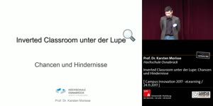 Miniaturansicht - Inverted Classroom unter der Lupe: Chancen und Hindernisse