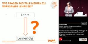 Miniaturansicht - Von der Lehre zum Lernerfolg: Wie tragen digitale Medien zu wirksamer Lehre bei?