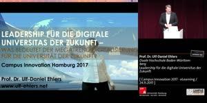 Miniaturansicht - Leadership für die digitale Universitas der Zukunft – Was bedeutet der Megatrend Digitalisierung für die Universität der Zukunft?