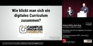 Miniaturansicht - Wie klickt man sich ein digitales Curriculum zusammen?