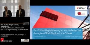 Miniaturansicht - End-2-End-Digitalisierung an Hochschulen