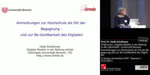 Miniaturansicht - Anmerkungen zur Hochschule als Ort der Begegnung und zur Be-Greifbarkeit des Digitalen