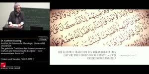 Miniaturansicht - Die gelehrte Tradition des Korankommentars (Tafsir) und feministische Exegese – zwei unvereinbare Ansätze?
