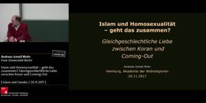 Miniaturansicht - Islam und Homosexualität – geht das zusammen? Gleichgeschlechtliche Liebe zwischen Koran und Coming-Out